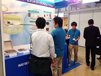 Wireless Japan 2014 ブースの様子